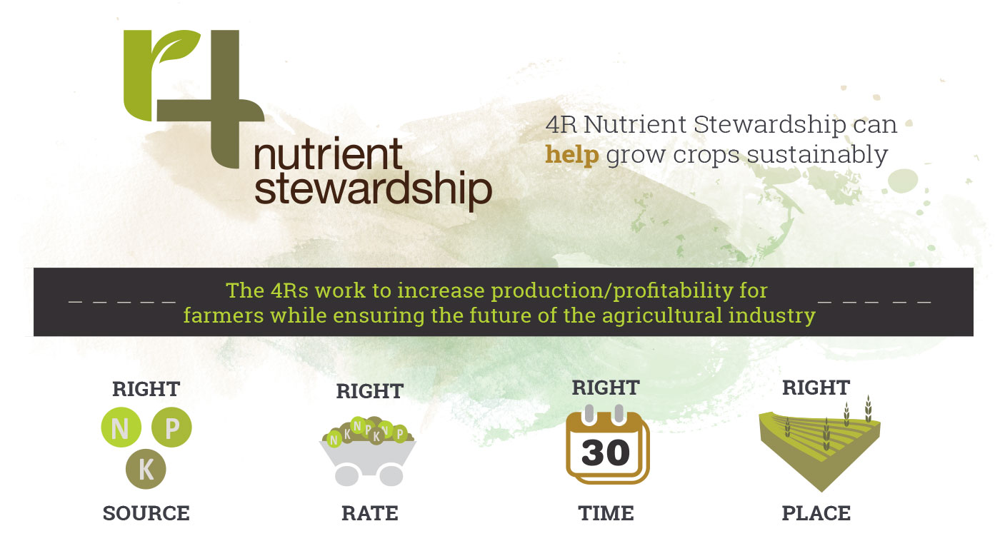 4R Nutrient Stewardship can help grow crops sustainably
