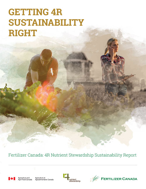 Mapping A Path To Sustainable Agriculture Fertilizer Canada