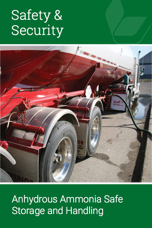 Anhydrous Ammonia Safe Storage and Handling
