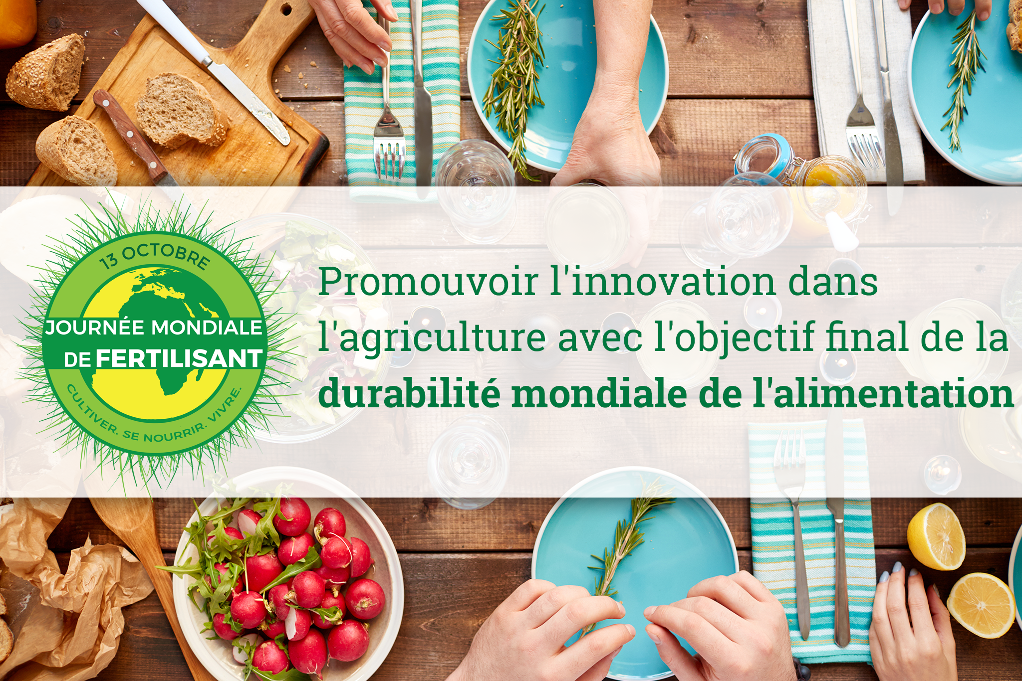 Promoting innovation in agriculture with the end-goal of worldwide food sustainability